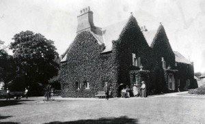 An old photo of the Home